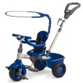 little-tikes-super 3-in-1 tricycle navy blue grey